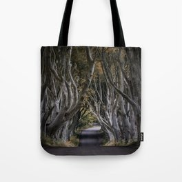 Dark Hedges Alley Tote Bag