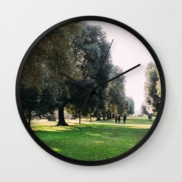 Kew Gardens London Tree Lane Wall Clock