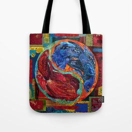 Head Over Tails Tote Bag