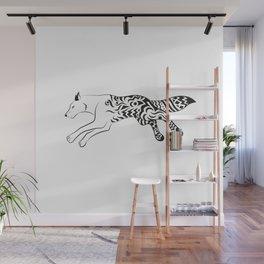magic fox Wall Mural