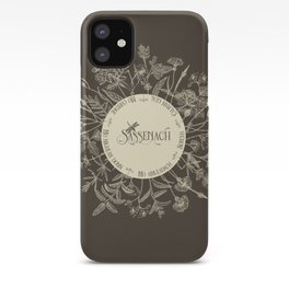 Dear Sassenach in Sepia iPhone Case