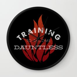 Training: Dauntless Wall Clock