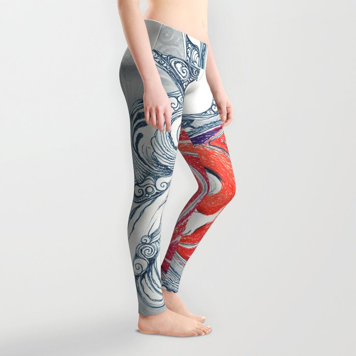 Whatever the Weather (I Keep Myself Wrapped Up In You) Leggings