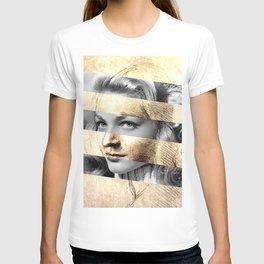 """Leonardo's """"Head of a Woman"""" & Lauren Bacall T-shirt"""