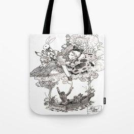 Dreaming Alice Tote Bag