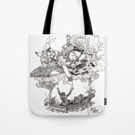 Dreaming Alice Tote Bag