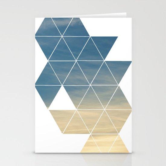 till the sun sets Stationery Cards