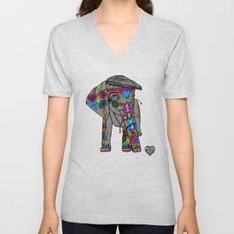Scurvy Elephant  Unisex V-Neck