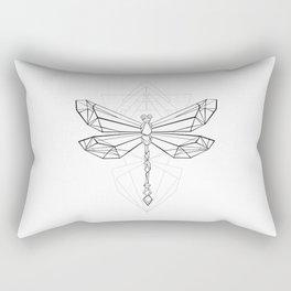 Polygonal Dragonfly Rectangular Pillow