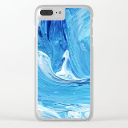 Lapeda Textile Art - 13 Clear iPhone Case
