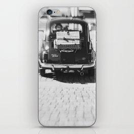 fiat 500 car - his iPhone Skin