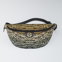 Floral Wrought Iron G267 Fanny Pack