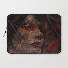 Shell - Cyborg Portrait Laptop Sleeve