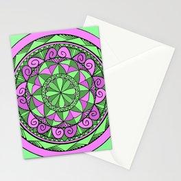 Indigo Mandala Stationery Cards