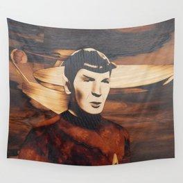 Leonard Nimoy alias Mr. Spock Wall Tapestry