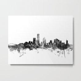 Milwaukee Wisconsin Skyline Metal Print
