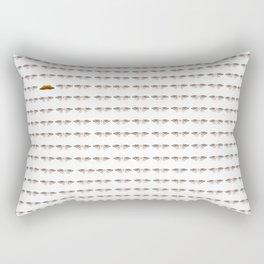 going down Rectangular Pillow