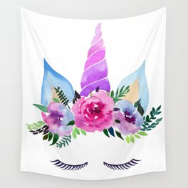Unicorn Horn Wall Tapestry