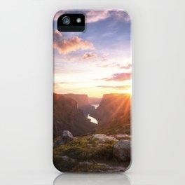 Western Brook Pond iPhone Case