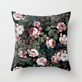 NIGHT FOREST XX Throw Pillow