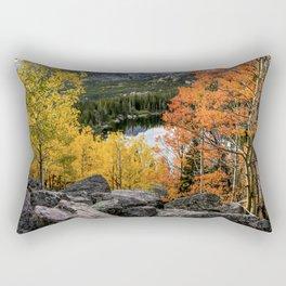 Rocky Mountain Aspens Rectangular Pillow