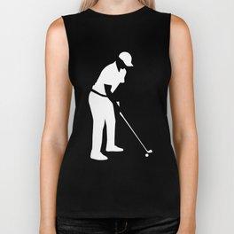Golf player Biker Tank