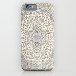 Bohemian Farmhouse Traditional Moroccan Art Style Texture iPhone Case