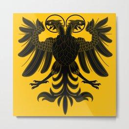 Sacred Roman Empire Eagle Metal Print