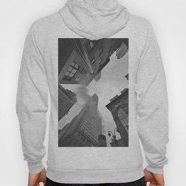 New York City Above (Black and White) Hoody