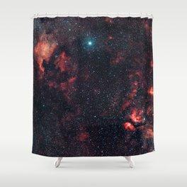 Cygnus Constellation Shower Curtain