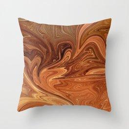 Desert Stone Throw Pillow
