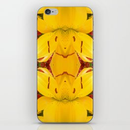 """""""A Gathering of Lilies"""" Remix - 4 (4-1) [D4469~57] iPhone Skin"""