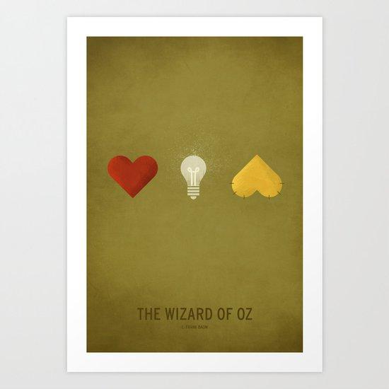 Oz  - NO TEXT Art Print