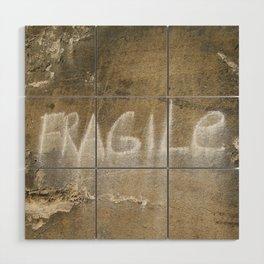 Fragile city Wood Wall Art