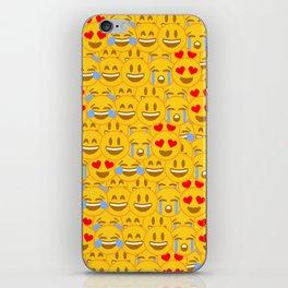 Emojis iPhone Skin
