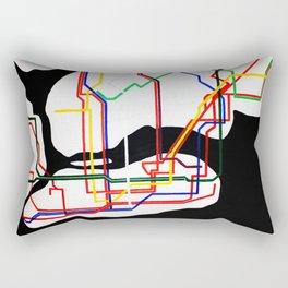 NYC Subway  Rectangular Pillow