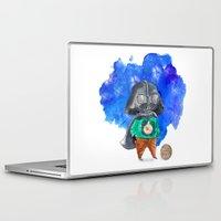 vader Laptop & iPad Skins featuring Vader by gunberk