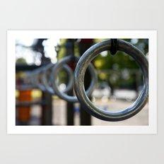 Park Rings Art Print