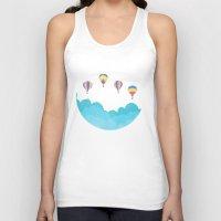 hot air balloons Tank Tops featuring hot air balloons by studiomarshallarts