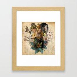 Corazon-2 Framed Art Print