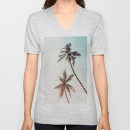 Palms Beach Summer Unisex V-Neck