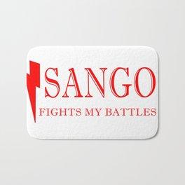 Sango Fights My Battles Bath Mat