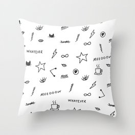 Things <3 Throw Pillow