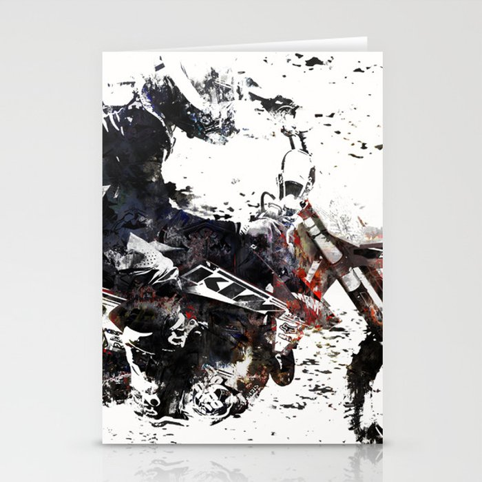 Motox Racer Stationery Cards