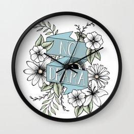 No Drama Wall Clock