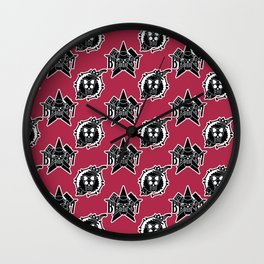 Franky and Brook Jolly Roger 3 Wall Clock