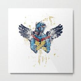 Fallen Hero Eagle Metal Print
