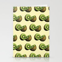 kiwi Stationery Cards featuring Kiwi by Sara Soto