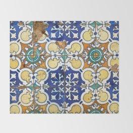 Tiles Throw Blanket