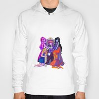 gumball Hoodies featuring The Madness of Prince Gumball by CloudyLights